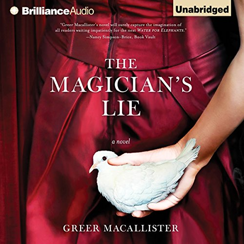 The Magician's Lie audiobook cover art