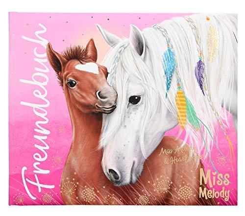 Depesche 10292 Freundebuch Miss Melody, pink, ca. 17 x 20,5 x 1,5 cm, bunt