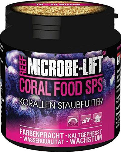 MICROBE-LIFT Coral Food SPS - Korallenfutter - Staubfutter für kleinpolypige Korallen in jedem Meerwasser Aquarium, 90g
