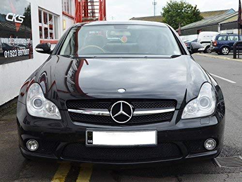 AMG Mercedes CLS Sport Einzeln Leiste Gitter Grill Schwarz FS219031 für Modelle bis Januar 2008