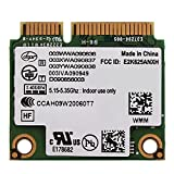 Richer-R Tarjeta de Red Adaptador Inalámbrica para PC/Laptop Portátiles,WiFi Tarjeta Wireless Universal para Chipset HM5/GM45/PM45/HM57,para Mini Ranura PCI-E DELL/ASUS/Toshiba/Acer(2.4GHz + 5GHz)