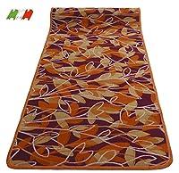casa tessile tappeto cucina passatoia antiscivolo largo 50 cm. rametti e foglie - 240 cm.