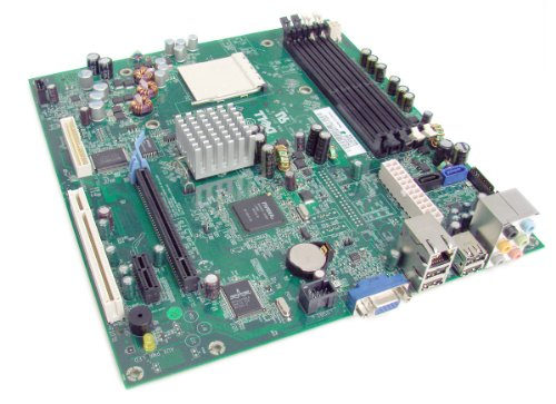 Genuine Dell HY175 YY821 FP406 Motherboard Main Logic Board AMD Athlon 64 DDR2 SDRAM For Dimension C521 Desktop Systems Compatible Part Numbers: HY175, DR828, FP406, UT226, YW167, YY821