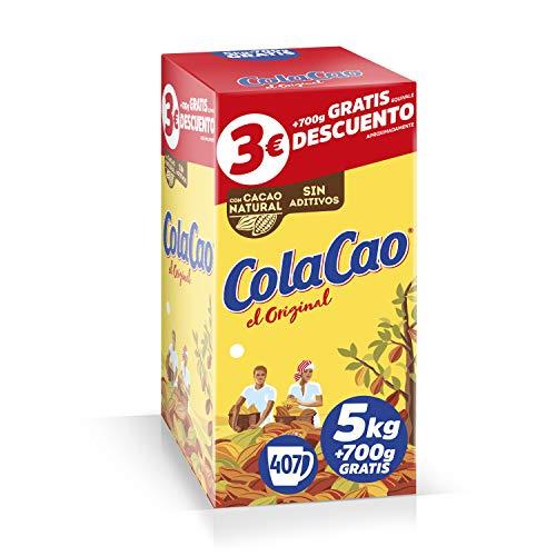 ColaCao Original: con Cacao Natural - Formato Ahorro - 5,7kg