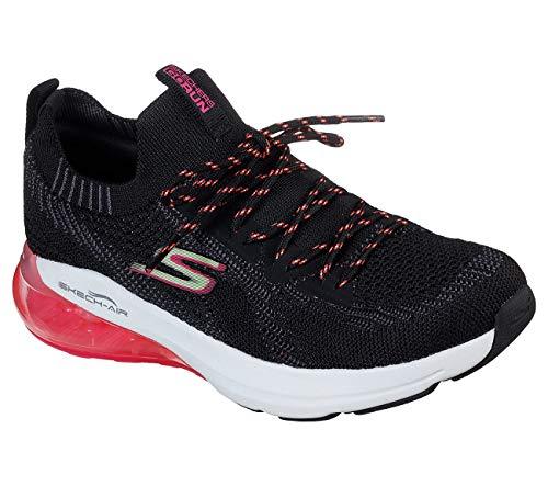Skechers Go Run Air-16071 - Zapatillas de deporte para mujer, Negro (Lavanda), 39 EU