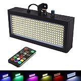 Estroboscopio Atómico Luces LED, 270 piezas Color luz estroboscópica con Control Remoto, Luz Intermitente Súper Brillante, Luces de juego LED discoteca