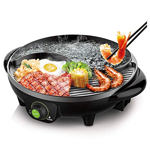 LIVEN SK-J3200 Electric Hot Pot with Grill and Non-Stick Coating Review
