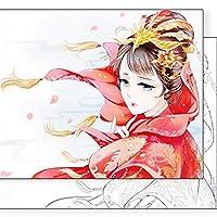 80ページ抗ストレスぬりえブック高品質本物のぬりえブック用大人中国古代スタイル絵画デッサン画集