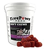 Omega 3 Chews Krill Oil Chews for Dogs - Shed Free Formula Relieves Skin...