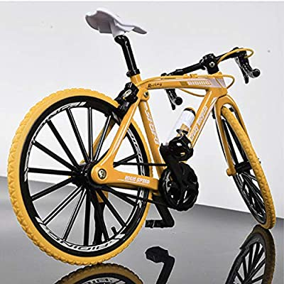 ANCHEER Alloy Racing Bicycle Mountain Bike Mini Bicycle Model Decoration for Home