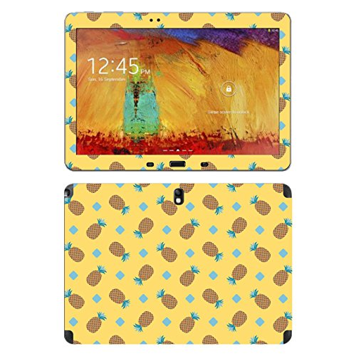 'Disagu SF 105236_ 1140Protective Skins for Samsung SM-P601Galaxy Note 10.1Tablet (2014Edition 3G–motif'Pineapple 02Clear