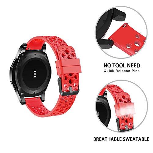 SkyBand - Cinturino sportivo in silicone classico per Smartwatch Amazfit GTR