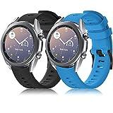 Yaspark Correa para Vivoactive 3, 20mm Repuesto de Correa Reloj de Silicona para Vivoactive 3 Music/Vívomove HR/Forerunner 645...