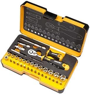 Felo 61547 Felo R-GO XL 36 piece Box Sockets, Bits Ergonic Ratchet, Metric