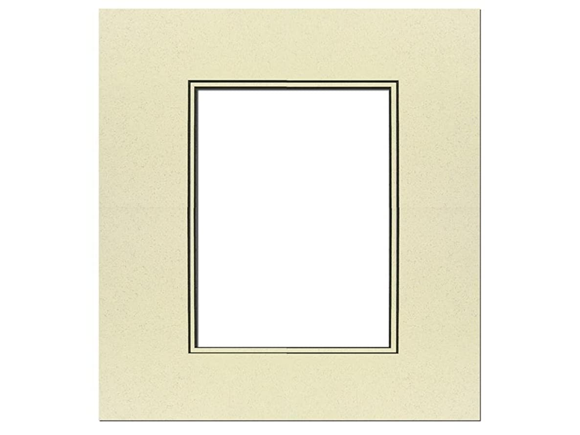 PA Framing, Double Thick Mat, 16 x 20 inches - Black Core and Spice Inner