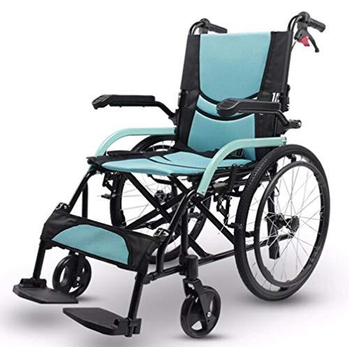 L&T Rollstuhl Faltbar Leicht Aluminium Sitzbreite 44,reiserollstuhl Alu Mit Feststellbremse,pannensichere Bereifung,rollstühle Für Behinderte,rollstuhl Mit Selbstantrieb,faltrollstuhl Ultraleicht