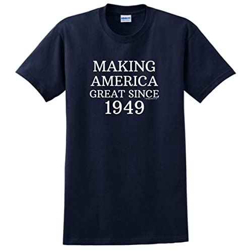 Birthday Gifts For All 70th Making America Great Since 1949 T Shirt