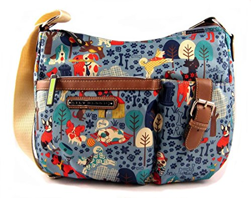 Lily Bloom kathryn Crossbody bag, Who Let The Dogs Out, Medium