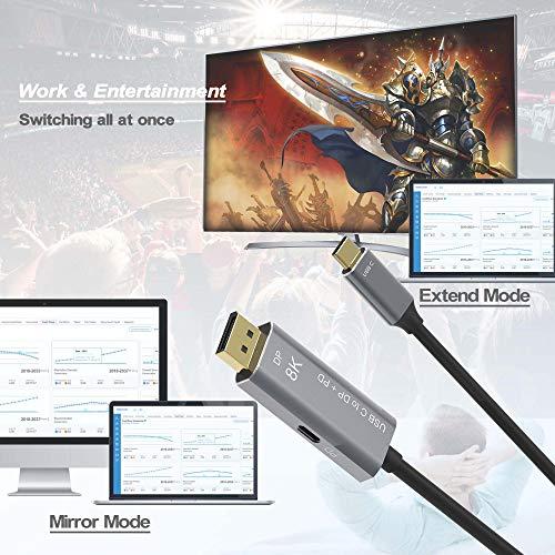 AKKKGOO Cables DisplayPort