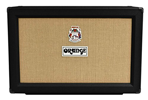 Orange 2x12 Cabinet Celestion V30 16 Ohm Black
