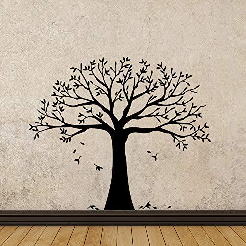wopiaol Adhesivos de Pared Jaula de pájaros Pogba Decoración del hogar Árbol Wall Wallst XL 58Cm X 68Cm