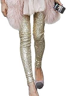 Sequin Sparkle Leggings Shiny Bling Tights Glitter Pants