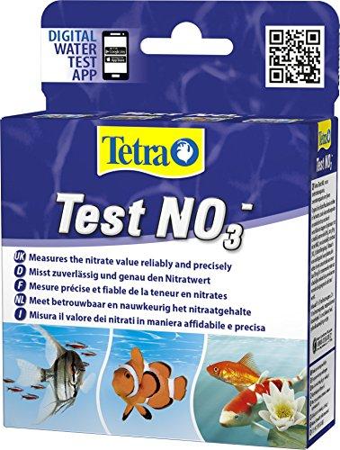 Tetra Test NO3 (Nitrat) - Wassertest für Süßwasser-Aquarien, Meerwasser-Aquarien und Gartenteiche, misst zuverlässig und genau den Nitratwert