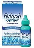 Refresh Optive Lubricant Eye Drops For Dry Eyes, 0.5 Fl Oz Sterile