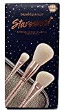 BAREmINERALS STARSWEPT 3 PIECE DELUXE BRUSH COLLECTION PLUS BRUSH ROLL