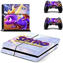 Dragon PS4 Whole Body Vinyl Skin Sticker Decal Cover for Playstation 4 System Console and Controllers by Tullia