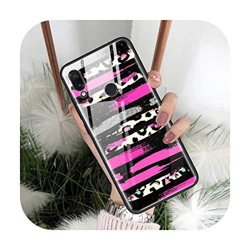 Phone cover Sexy Flores Leopard Case Para Xiaomi Para Redmi Note 7 8T 9S 9 K30 Pro Zoom 8A 6 8 Mi Cc9 9T 10 X2 Vidrio Templado Teléfono Coque Cover-T02-For Mi Cc9