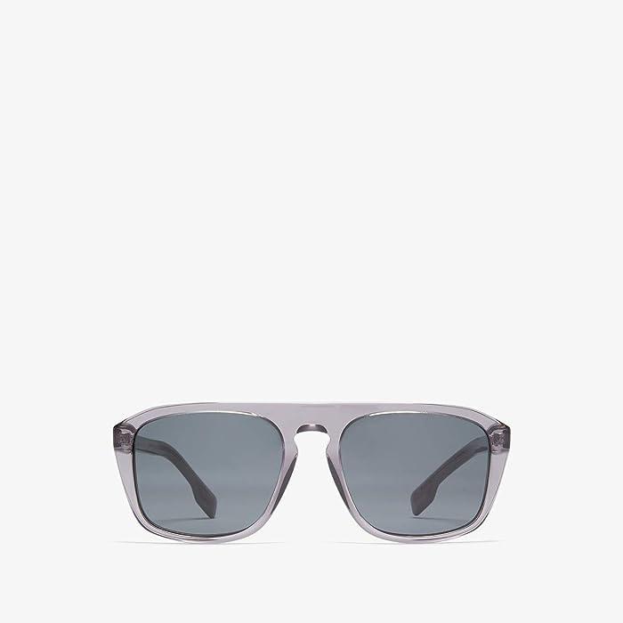 Burberry  0BE4286 (Transparent Grey/Grey) Fashion Sunglasses