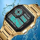 NO LOGO HMLSM PANARS Sport Mens Retro Uhren Wasserdicht Count Down Timer Digital-Tauchen-Uhr-Männer...