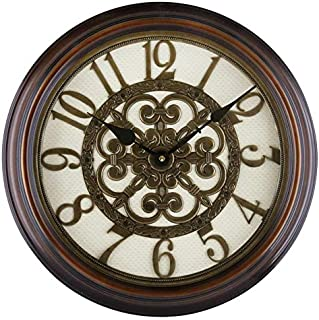 Wall Clock Analog 66147A - 46 * 46 * 6cm AA