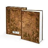 Cuaderno Viejo Mundo II en Blanco Cuaderno Diario de viaje vac├нos de l├нneas 128┬аp├бginas p├бginas blancas