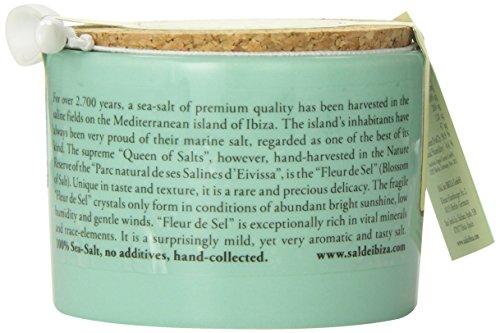 サル・デ・イビザ100%ソルト150g(陶器ポット入り)スペイン・天然塩(塩の花)