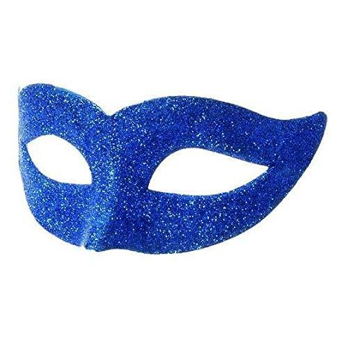 Bleu Masque pour les yeux Glitter