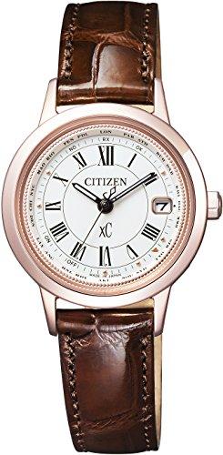 [シチズン]CITIZEN 腕時計 xC クロスシー エコ・ドライブ 電波時計 ティタニアライン ハッピーフライトシリーズ サクラピンク EC1144-18C レディース