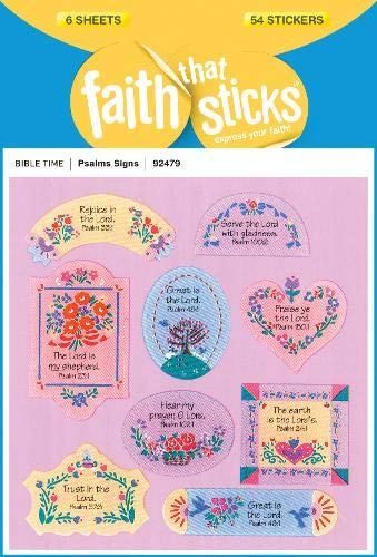 Psalms Signs (Faith That Sticks Stickers)