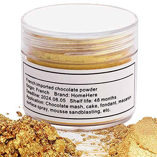HomeHere Luster Powder Dust Edible Cake Dust, 7 Grams