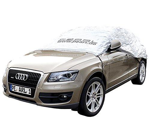 PEARL Autoschutz: Premium Auto-Halbgarage für Kleinbus & Transporter, 470 x 140 x 65 cm (Abdeckplanen Autos)