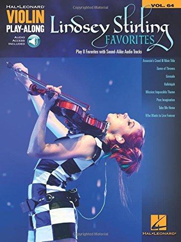 Lindsey Stirling Favorites: Violin Play-Along Volume 64 (Hal Leonard Violin Play-Along) by Lindsey Stirling (2016-12-01)