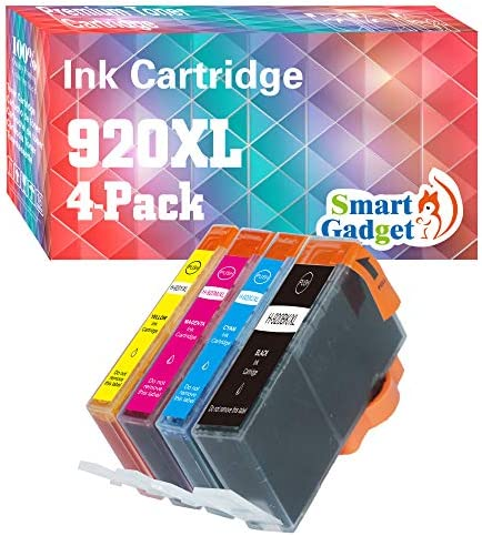 Smart Gadget Compatible 920XL Ink Cartridge Replacement for High Yield HP 920 XL to use with product image
