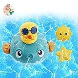 Baby Badespielzeug,Wasserspielzeug,Baby Bad Spielzeug, Baby Badespass Whale,Badewannenspielzeug,Induction Automatisch Wasserspray Spielzeug,Badewanne Pool Spielzeug,Schwimmbad Spielzeug Für Kleinkinde
