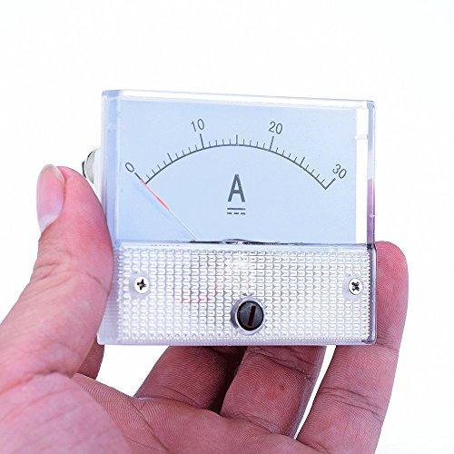 atoplee DC 0–30A Ampermeter Analog Amp Current Panel Meter Amperemeter Gauge