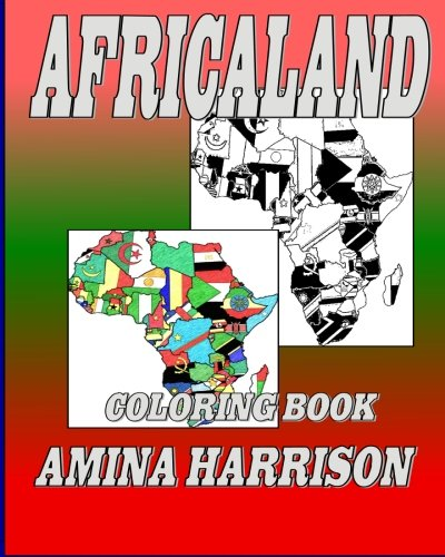 AfricaLand: Coloring Book