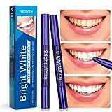 Neomen Teeth Whitening Pen (2 Pack) - 35% Carbamide Peroxide Gel,...