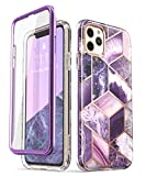 i-Blason Cosmo Series Case for iPhone 11 Pro Max 2019 Release, Slim Full-Body Stylish Protective Case with Built-in Screen Protector (Ameth)