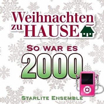Weihnachten zu Hause: So war es 2000