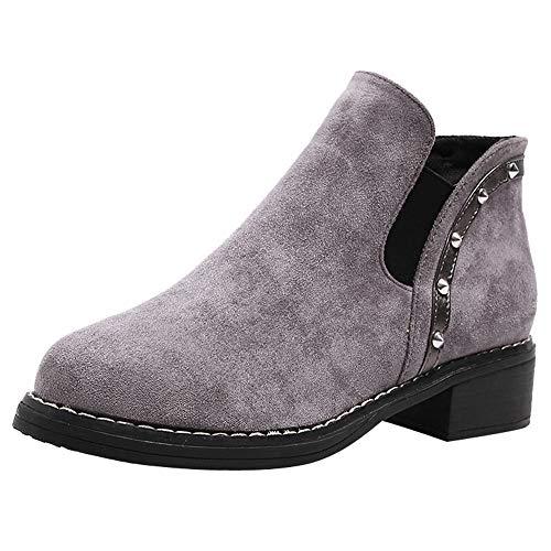 Boots Stiefel Damen Chelsea Ankle Schwarz Absatz High Heel Combat Desert Chukka Kurzschaft Keilabsatz Plateau Halbschaft Gohtic Fell Leder Platform